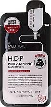Kup Czarna maska oczyszczająca pory na tkaninie do twarzy z węglem - Mediheal H.D.P. Pore-Stamping Black Mask EX