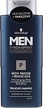 Kup Szampon dla mężczyzn do codziennego stosowania - Schwarzkopf Men Deep Effect 3 P Daily Shampoo