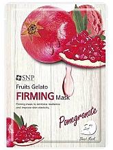 Kup Ujędrniająca maseczka w płachcie do twarzy z granatem - SNP Fruits Gelato Firming Mask