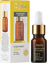 Kup Rozjaśniające serum z liposomalną witaminą C do twarzy, szyi i dekoltu - Delia Professional Face Care