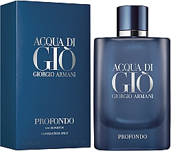 Giorgio Armani Acqua di Gio Profondo - Woda perfumowana — фото N2