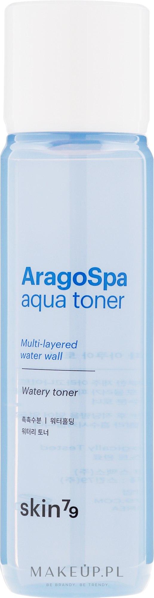 Nawilżający tonik do twarzy - Skin79 Aragospa Aqua Toner — фото 180 ml