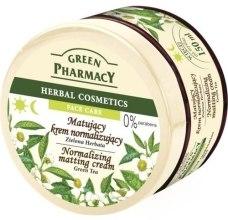 Kup Matujący krem normalizujący Zielona herbata - Green Pharmacy Normalizing Matting Cream