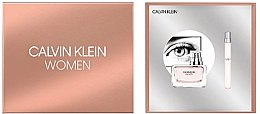 Calvin Klein Women - Zestaw (edp 50 ml + edp 10 ml) — фото N2