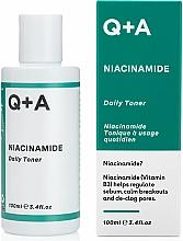 Kup Nawilżający tonik do twarzy - Q+A Niacinamide Daily Toner