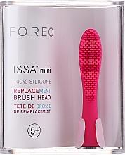 Kup Wymienna główka do szczoteczki, różowa - Foreo Brush Head Issa Mini Wild Strawberry