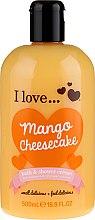 Kup Krem do kąpieli i pod prysznic - I Love... Mango Cheesecake Bath And Shower Cream