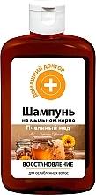 Kup Szampon odbudowujący Miód pszczeli - Domowy doktor