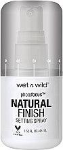 Kup Spray do utrwalania makijażu - Wet N Wild Photofocus Natural Finish Setting Spray
