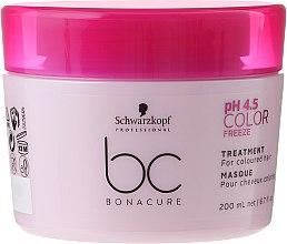 Kup Maska do włosów farbowanych - Schwarzkopf Professional Bonacure Color Freeze pH 4.5 Treatment