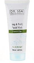 Kup Ujędrniająco-oczyszczająca maska do twarzy z francuską glinką - Dr. Sea Firming & Purifying Facial Mask