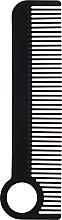 Kup Grzebień do włosów, czarny - Chicago Comb Co CHICA-1-CF Model № 1 Carbon Fiber