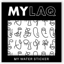 Kup Naklejki na paznokcie w artystyczne wzorki - MylaQ My Line Art sticker