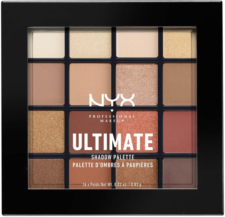 Paleta cieni do powiek - NYX Professional Makeup Ultimate Shadow Palette