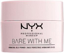 Kup Nawilżająca baza w żelu pod makijaż - NYX Professional Makeup Bare With Me Hydrating Jelly Primer