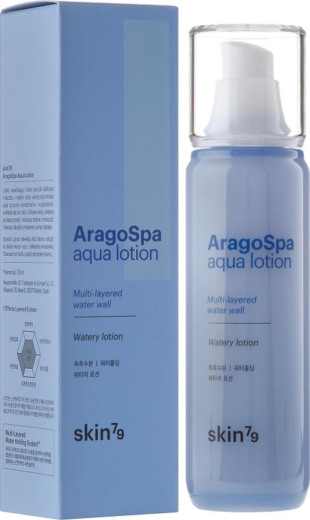 Lekki nawilżający lotion do twarzy - Skin79 AragoSpa Aqua Lotion — фото N1