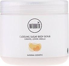 Kup Otulający peeling cukrowy do ciała Karmel, cytryna i wanilia - Naturativ Cuddling Body Sugar Scrub