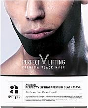 Kup Ujędrniająca maska do twarzy dla mężczyzn - Avajar Perfect V Lifting Premium Black Mask