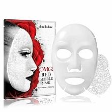 Kup Głęboko oczyszczająca maseczka złuszczająca w płachcie do twarzy - Double Dare OMG! Red Bubble Mask