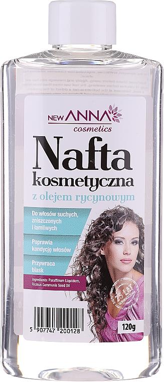 Odżywka do włosów Nafta z olejem rycynowym - New Anna Cosmetics