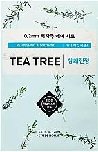Kup Odświeżająca maseczka kojąca w płachcie do skóry problematycznej - Etude House Therapy Air Mask Tea Tree