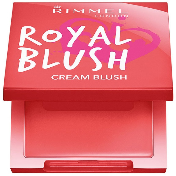Kremowy róż do policzków - Rimmel Royal Blush Cream — фото N1
