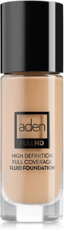 Podkład do twarzy - Aden Cosmetics High Definition Fluid Foundation