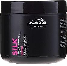 Kup Wygładzająca maska do włosów suchych, zniszczonych i po zabiegach fryzjerskich Jedwab - Joanna Professional