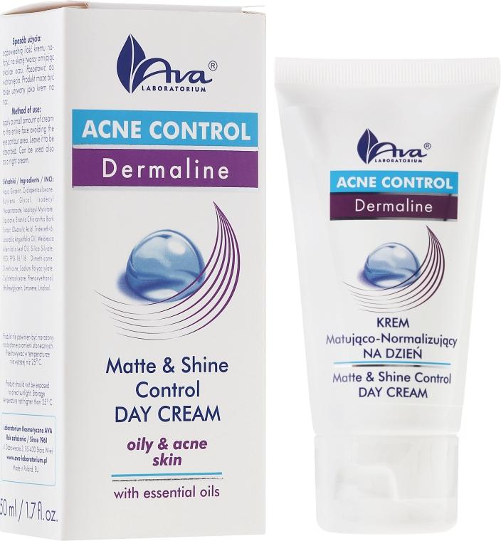 Krem matująco-normalizujący na dzień - AVA Laboratorium Acne Control Dermoprogram