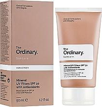 Kup Przeciwsłoneczny krem do twarzy - The Ordinary Suncare Mineral UV Filters SPF30 Antioxidants