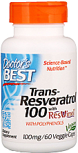 Kup Trans-resweratrol w kapsułkach - Doctor's Best Trans-Resveratrol with Resvinol, 100 mg