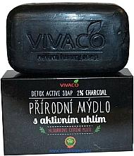 Kup Naturalne mydło z węglem aktywnym - Vivaco