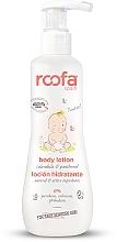 Kup Balsam do ciała dla niemowląt Nagietek i panthenol - Roofa Calendula & Panthenol Body Lotion