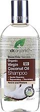 Kup Nawilżający szampon do włosów Olej kokosowy - Dr. Organic Bioactive Haircare Virgin Coconut Oil Shampoo