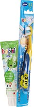 Kup Zestaw - Bobini (toothbrush + toothpaste/75ml)