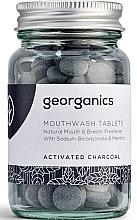 Kup Naturalne tabletki do płukania jamy ustnej Węgiel aktywny - Georganics Mouthwash Tablets Activated Charcoal
