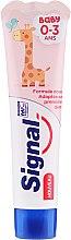 Kup Pasta do zębów dla dzieci poniżej 3. roku życia - Signal Baby 0-3 Toothpaste