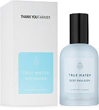 Kup Głęboko nawilżająca emulsja do twarzy - Thank You Farmer True Water Deep Emulsion
