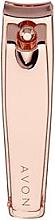 Kup Cążki do paznokci, różowe złoto - Avon Rose Gold Nail Clippers