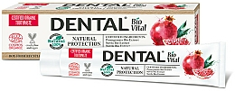 Kup Pasta do zębów z granatem Naturalna Ochrona - Dental Bio Vital Natural Protection Toothpaste