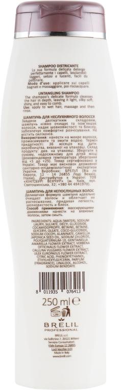 Szampon ułatwiający rozczesywanie włosów - Brelil Bio Treatment Soft Shampoo — фото N2