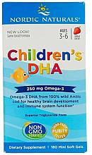 Kup Kwas Omega-3 w żelowych kapsułkach dla dzieci - Nordic Naturals Children's DHA