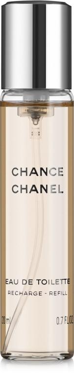 Chanel Chance - Woda toaletowa (trzy wymienne wkłady) — фото N2