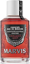 Kup Płyn do płukania jamy ustnej Cynamon i mięta - Marvis Concentrate Cinnamon Mint Mouthwash