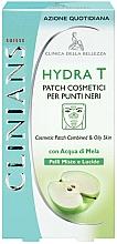 Kup Oczyszczające płatki do strefy T do skóry tłustej i mieszanej - Clinians Hydra T Pach C Punti Neri Clinians