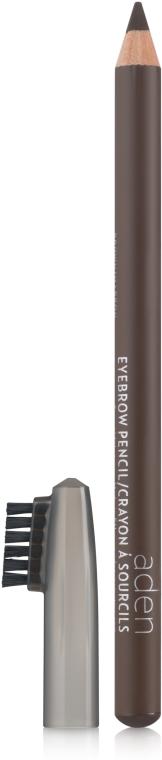 Kredka do brwi ze szczoteczką - Aden Cosmetics Eyebrow Pencil