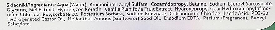 Odżywczy szampon rodzinny Miód manuka z mleczkiem waniliowym - Farmona Herbal Care — фото N3