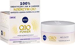 Kup Nawilżający krem przeciwzmarszczkowy na dzień SPF 15 - Nivea Q10 Power Anti-Wrinkle Day Cream