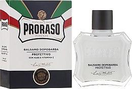 Kup Balsam po goleniu z aloesem i witaminą E - Proraso Blue Line After Shave Balm Super Formula