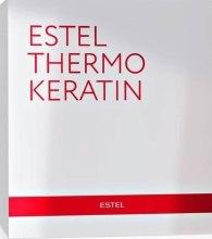 Kup Zestaw do zabiegu keratynowego - Estel Professional Thermokeratin (mask/300ml + activ/200ml + water/100ml)